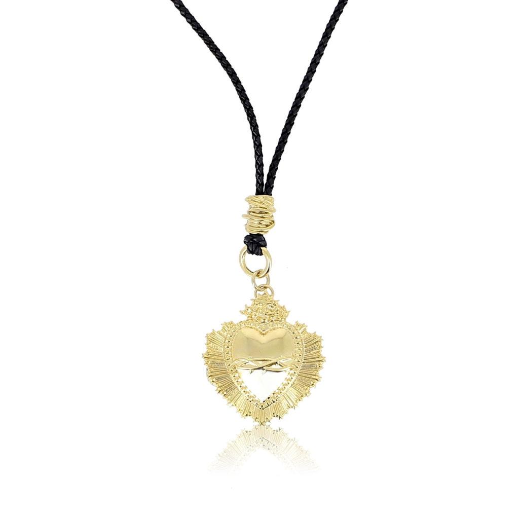 "18/"" o 24 Pulgadas Collar /& Alado Corazón Colgante Sufi Sufismo universalismo encanto"