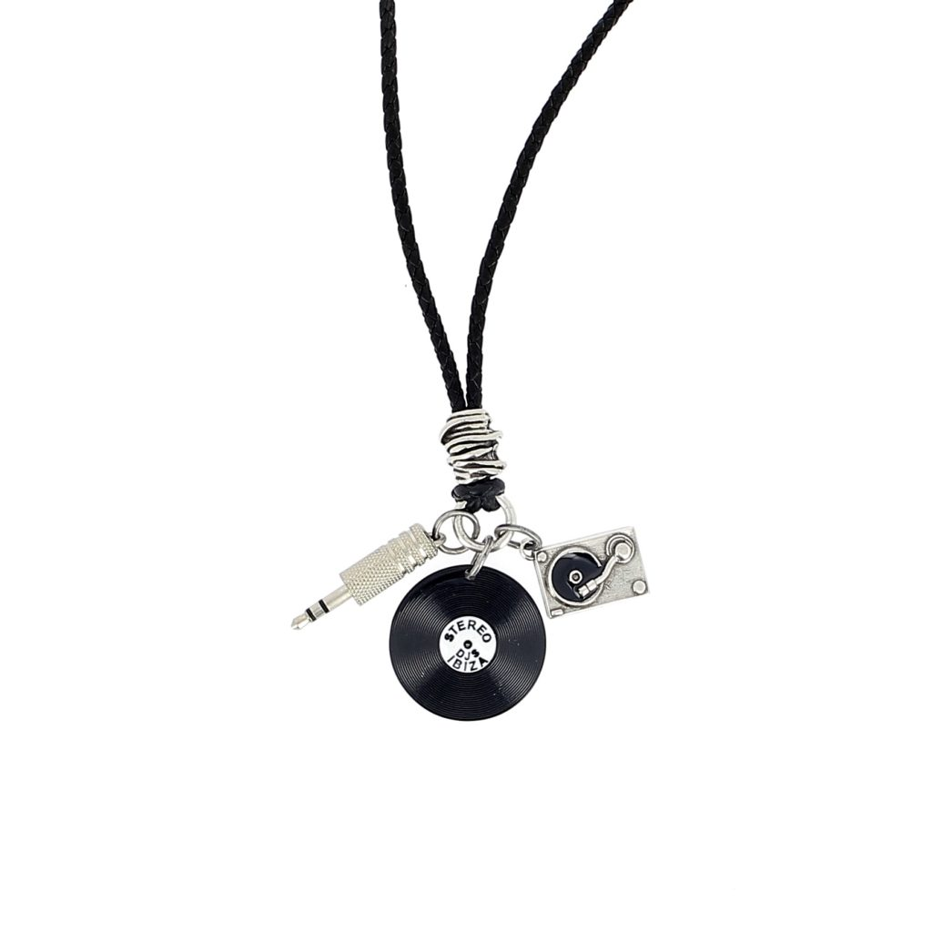 Jack usb pendant charm necklace luis de lis ibiza joyas artesanales home men pendant necklace aloadofball Choice Image